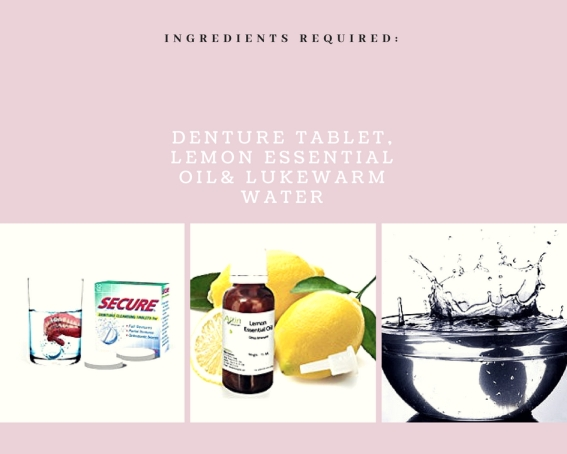 diy nail whitening remedy ingredients