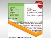 Contoh RPP Kurikulum 2013 Revisi 2017