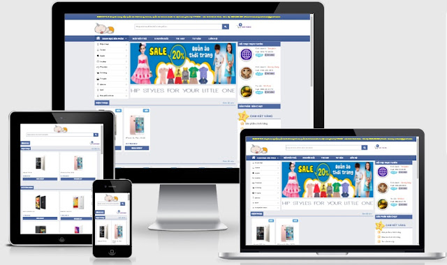 Template blogspot siêu thị điện tử điện máy chuẩn seo