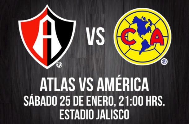 Ver Atlas vs América en Vivo