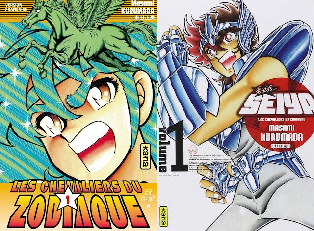 Saint Seiya, Chevaliers du Zodiaque, Kana, Manga, Actu Manga,