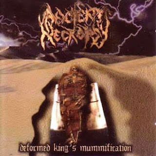 Ancient Necropsy, Deformed king´s Mummification Album, Colombian Metal, Metal colombiano, Musica