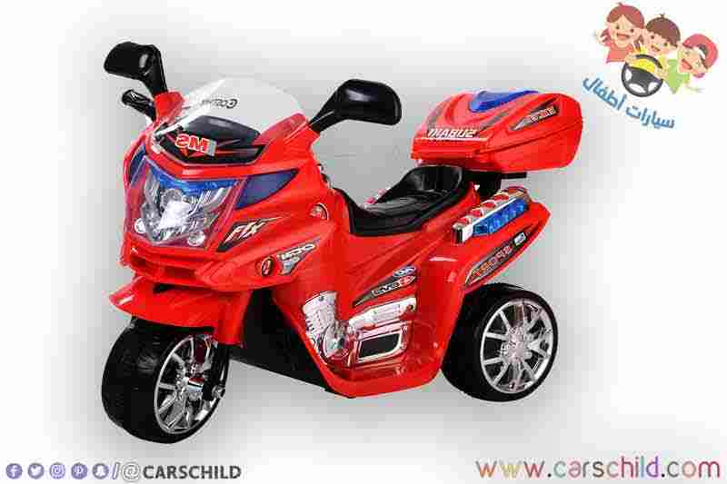 دراجة Red Police الكهربائية الصغيرة