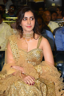 Raashi Khanna Stills at Venky Mama Movie Pre Release Event