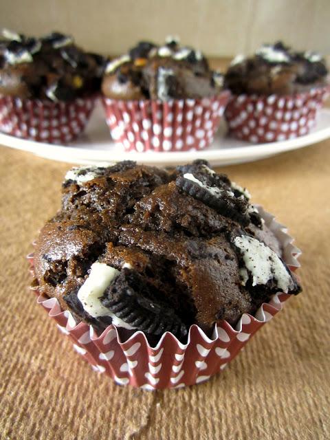 Oreo Muffins Cake Recipe