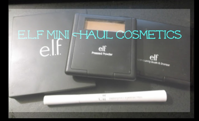 E.L.F Cosmetic Mini Haul
