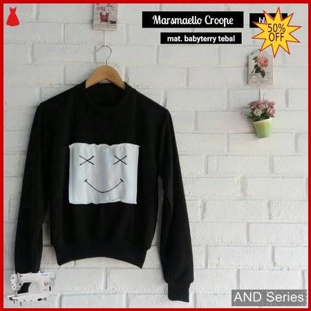 AND189 Baju Atasan Wanita Blouse Marshmello Croope BMGShop