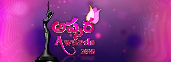 Apsara Awards 2016 on Zee Telugu Upcoming Show Wiki , Winner List,Nominee