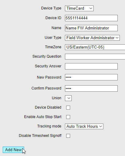lets check out the new functionality the timecard supervisor app has it can pretty much do everything the full version of timecard gps does - Time Card App