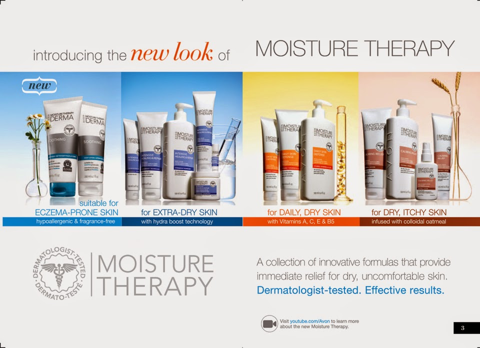 Avon New Moisture Therapy