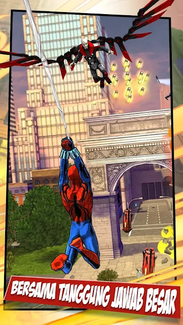 download game spiderman ultimate power apk mod
