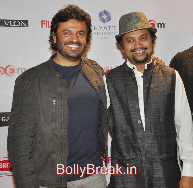 Vikas Bahl, Soumik Sen, Filmfare Awards 2015 Red Carpet Pics for Nominations Pre Party