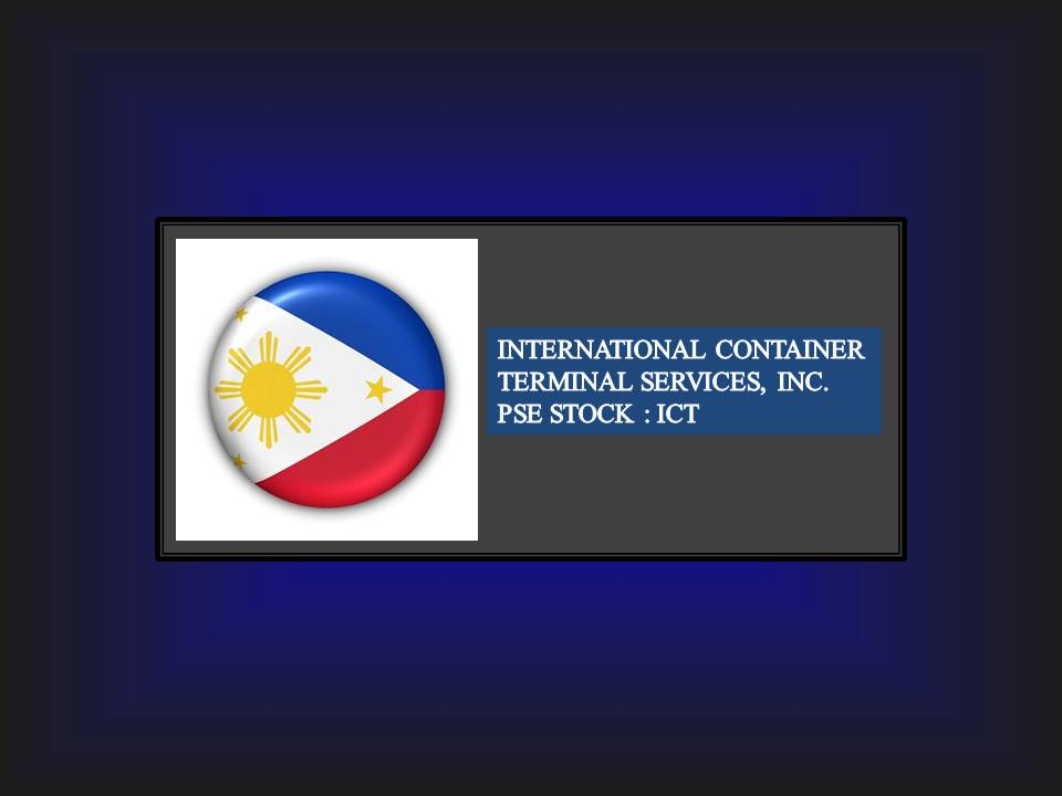 PSE Listed: International Container Terminal Services