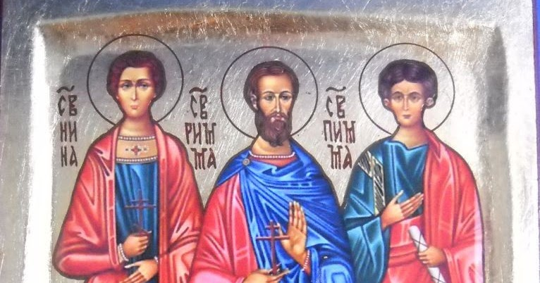 IMG STS. INNA, Pinna and Rimma, Martyrs and Apostles