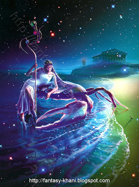 Fantasy Art Horoscope - Cancer