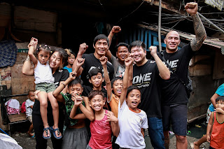 Angela Lee, Brandon Vera and Eduard Folayang