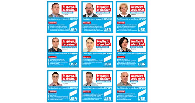 Listele USR, surpriza alegerilor parlamentare la Suceava. Cine sunt candidații propuși la Senat și Camera Deputaților