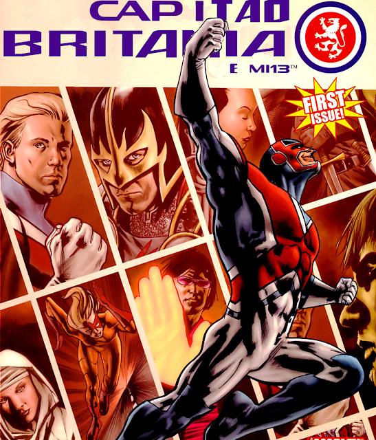 Review: Capitão Britânia e o MI-13 (Marvel Comics)