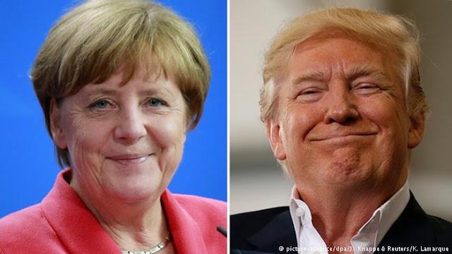 Angela Merkel vs. Donald Trump: La confrontación más esperada del siglo