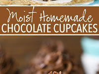 MOIST HOMEMADE CHOCOLATE CUPCAKES