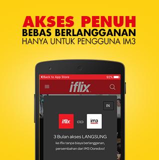 Iflix Indosat Ooredoo Layanan Streaming Nonton FILM