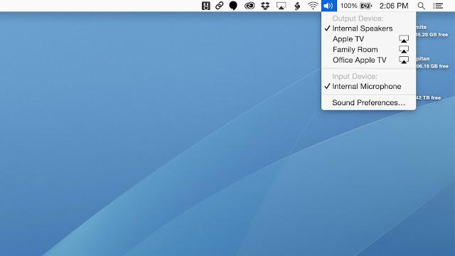 AirPlay Audio Streaming on Mac
