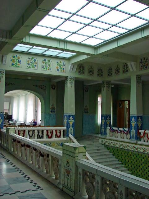 Коридоры полтавского музея