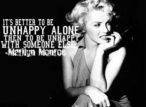 CRAZIEECATLADY: Quotes By Marilyn Monroe :] [: