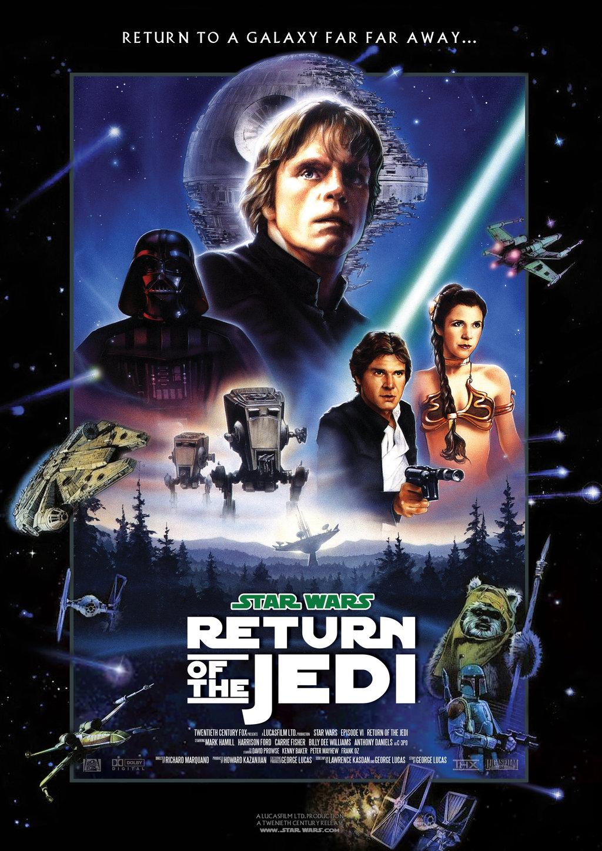 Star Wars: Episodio VI – El Retorno del Jedi Pelicula Poster