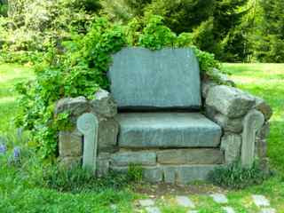 Superb In My Gardens I Donu0027t Have An Alluring Stone Chair Like The One Seen Here  At Chanticleer, But Iu0027ve Added Enticing And Somewhat More Practical Seating  In ...