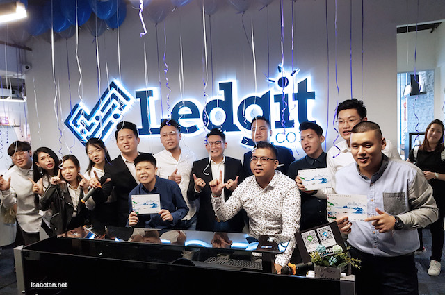 Grand launch of Ledgit.com