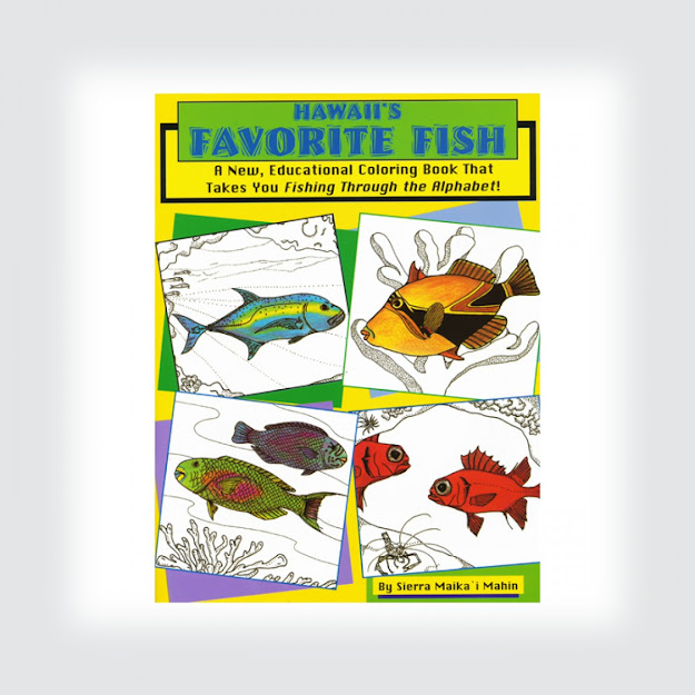 Hawaiis Favorite Fish Coloring Book