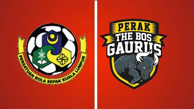 Live Streaming Kuala Lumpur vs Perak Liga Super 23.4.2019