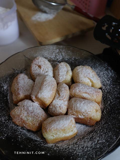 Resep Beignett, Roti Goreng New Orleans