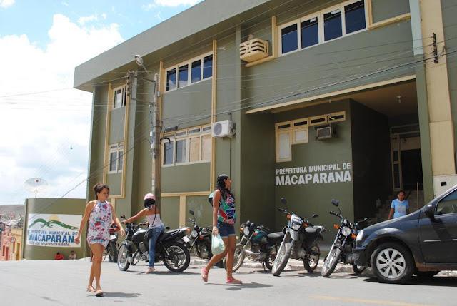 248 vagas: Prefeitura de Macaparana realizará concurso público
