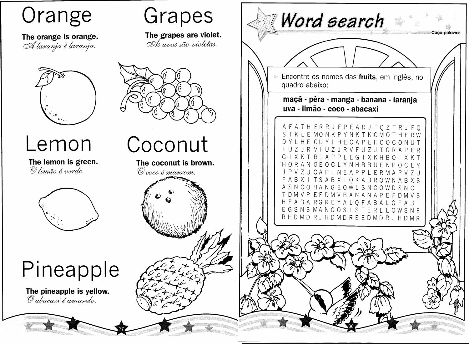 Learning English Foods