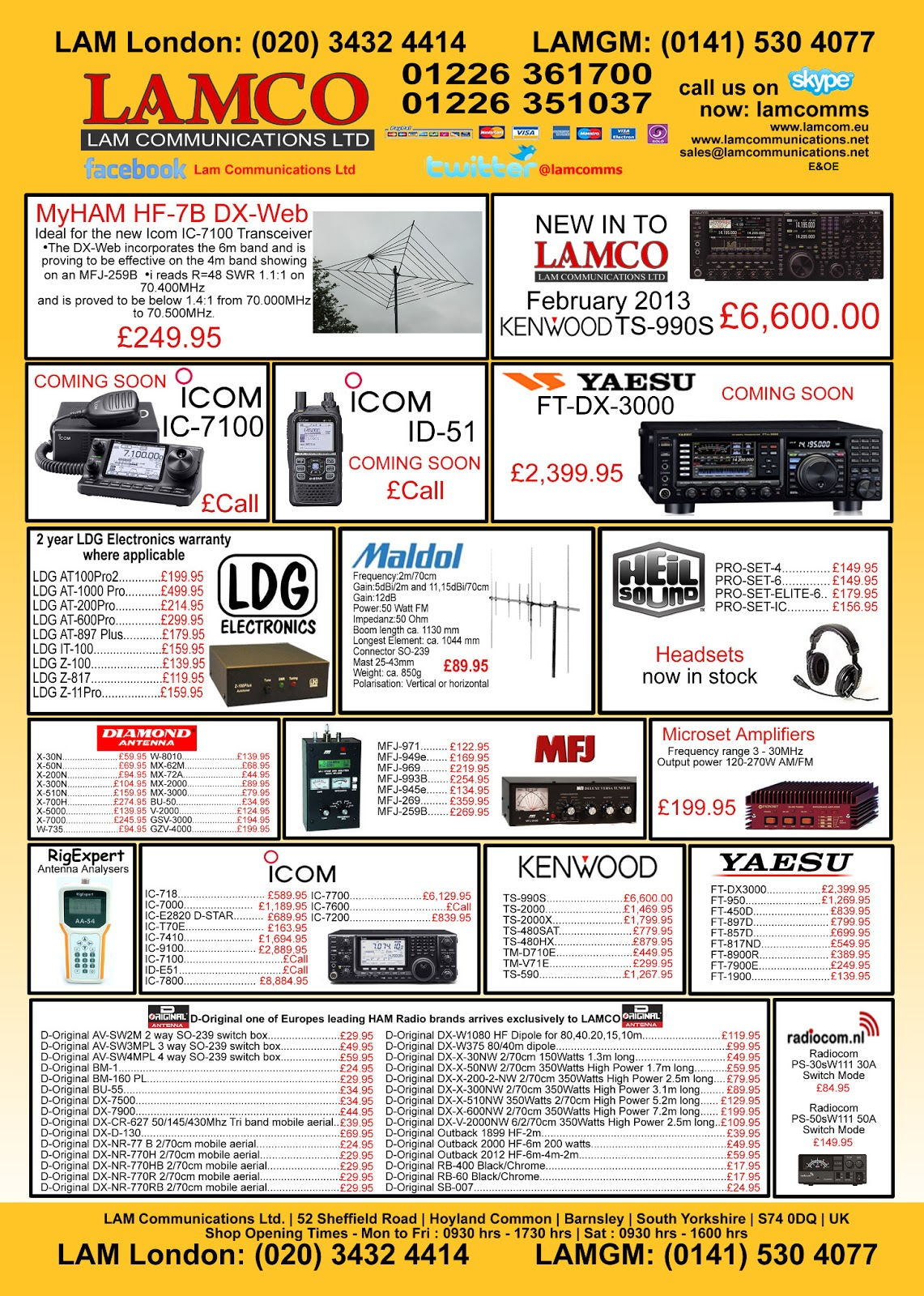 LAMCO Ham Radio News Blog : The new advert for RADCOM and Practical