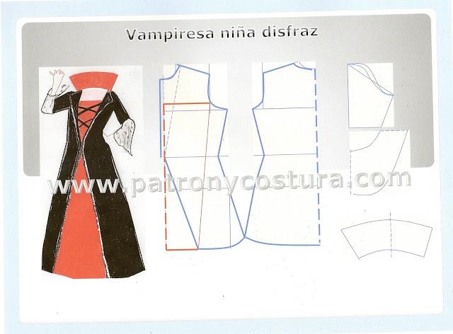 http://www.patronycostura.com/2015/10/vampiresa-disfraz-diytema-135.html