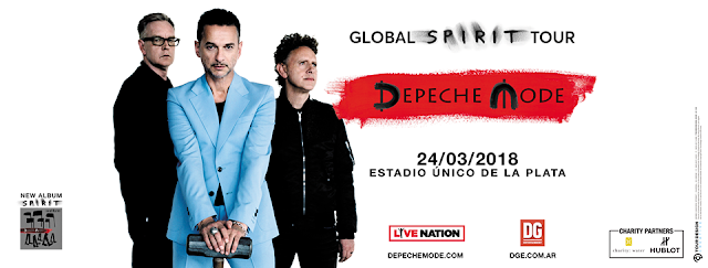 Noticias que suenan Rock Depeche Mode Global Spirit Tour 2018