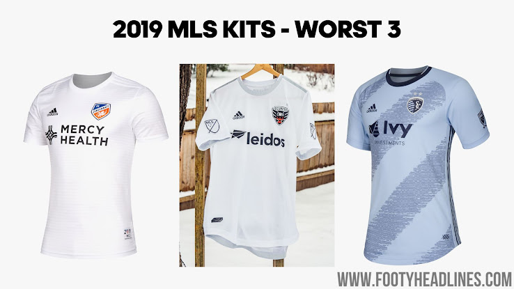 af17d13b278 The worst three new MLS kits in our opinion are the secondary Cincinnati  shirt