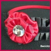 Diadema flor yoyo