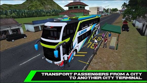 Game Mobile Bus Simulator Mod