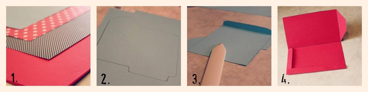 diy gift card envelopes  househoff