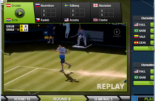 Vtennis : Nairabet introduced Virtual Tennis