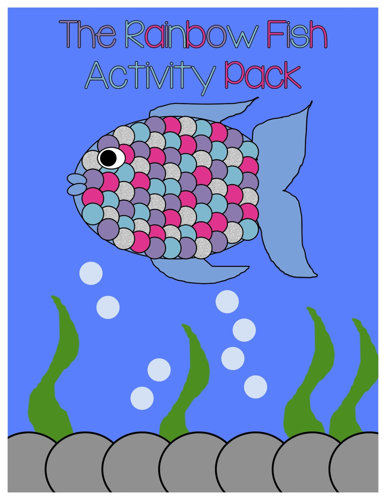 Rainbow Fish Math Activities