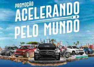 Promoção Bradesco Acelerando Pelo Mundo Carros Viagens