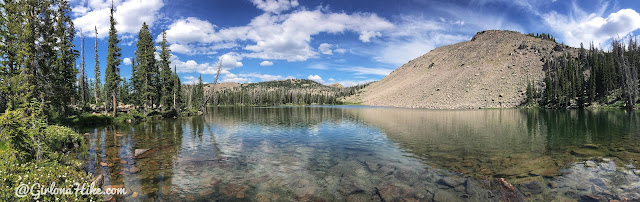 Backpacking the Shingle Creek Trail, Uintas, South Erickson Lake