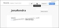 Jona Rendra Google Site