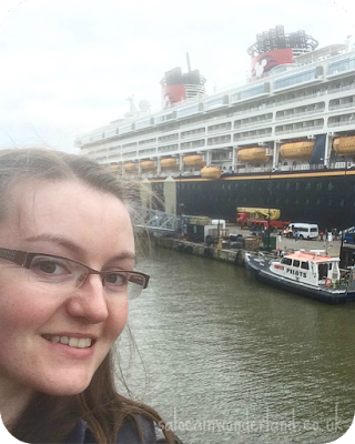 disney cruise ship in liverpool