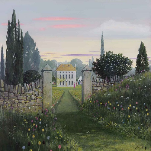 """Garden Party"" by Alan Parry - 2018 